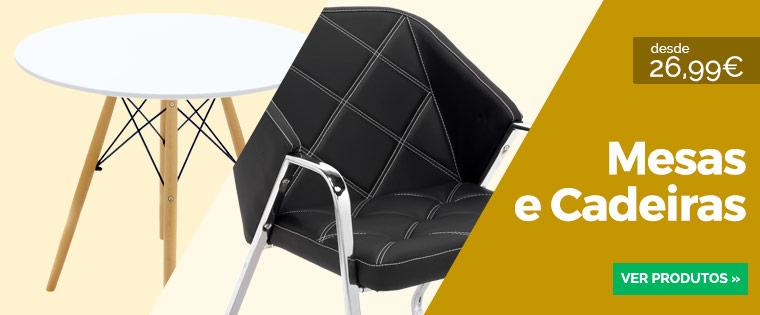 Cadeiras e Mesas Stock-off - Zori